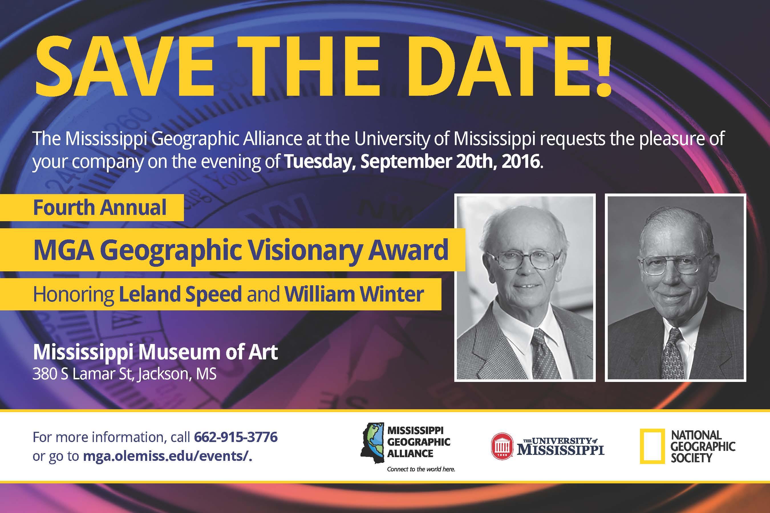 MGA Geographic Visionary Awards